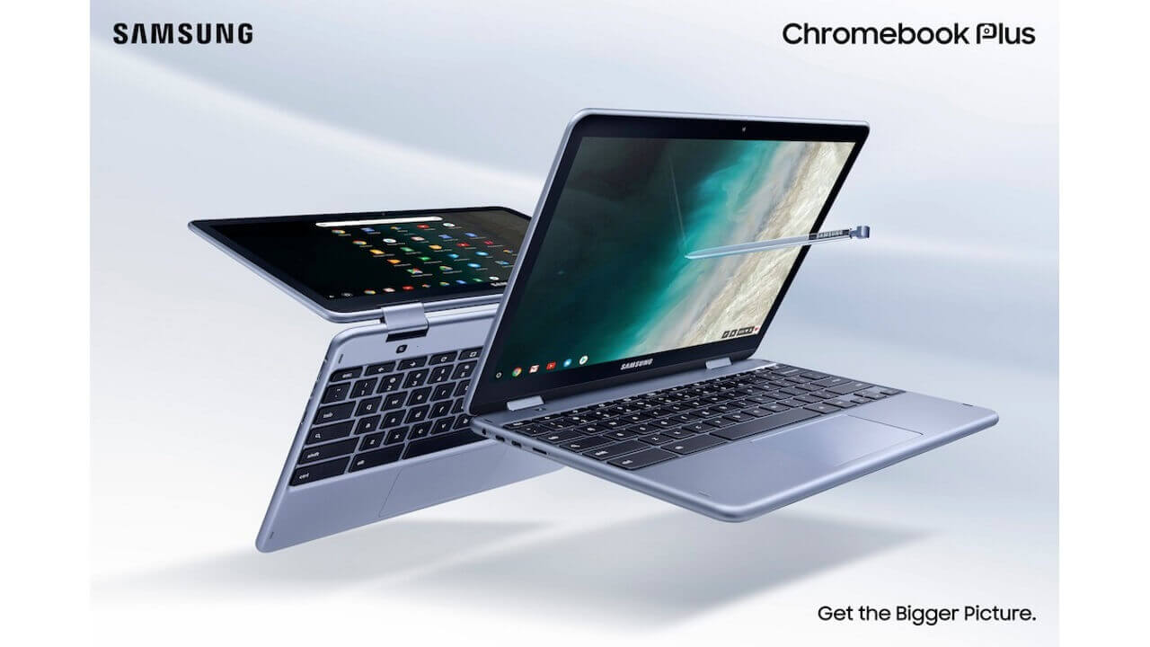 Samsung、細部をリニューアルした第2世代「Chromebook Plus(V2)」を発表
