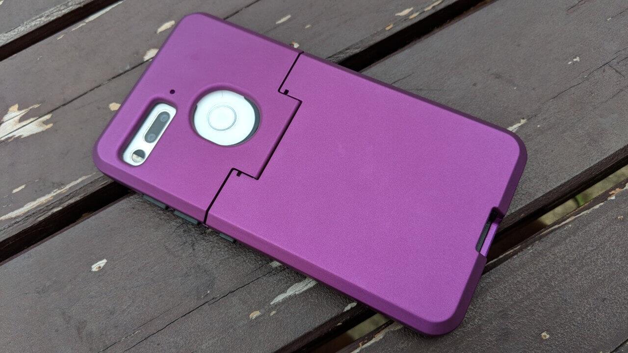 360 Cameraと併用可能な「Essential Phone」用DUEDUEケース、だめだこりゃ【レビュー】