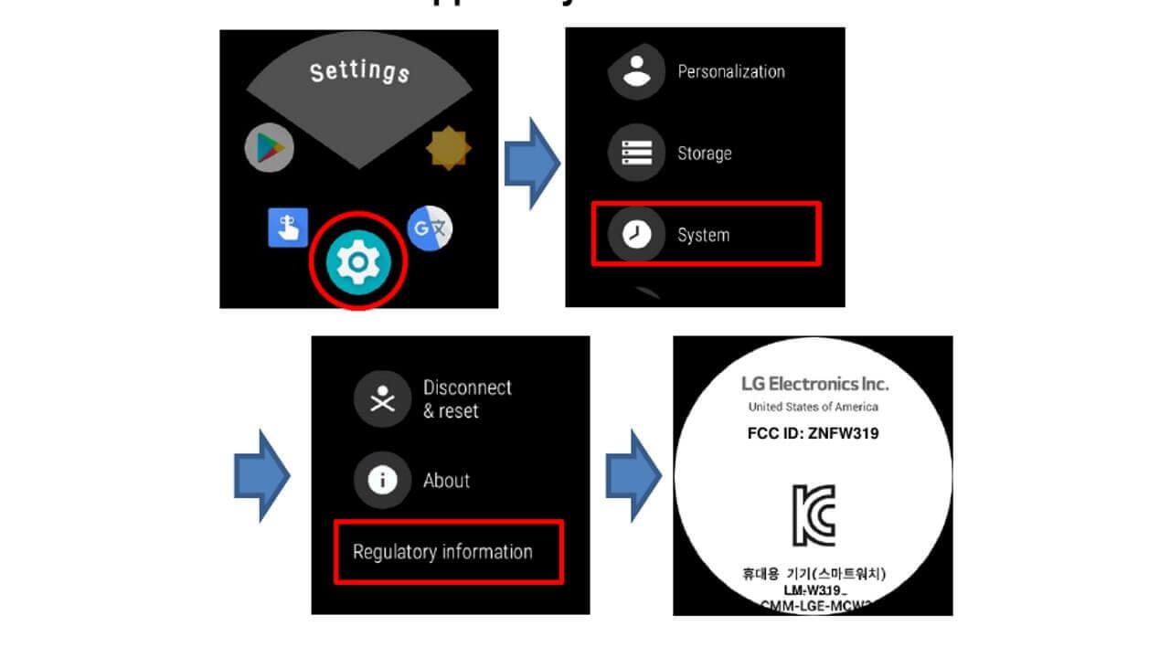LG製新型Wear OSウォッチ「ZNFW319」がFCCの認証を取得