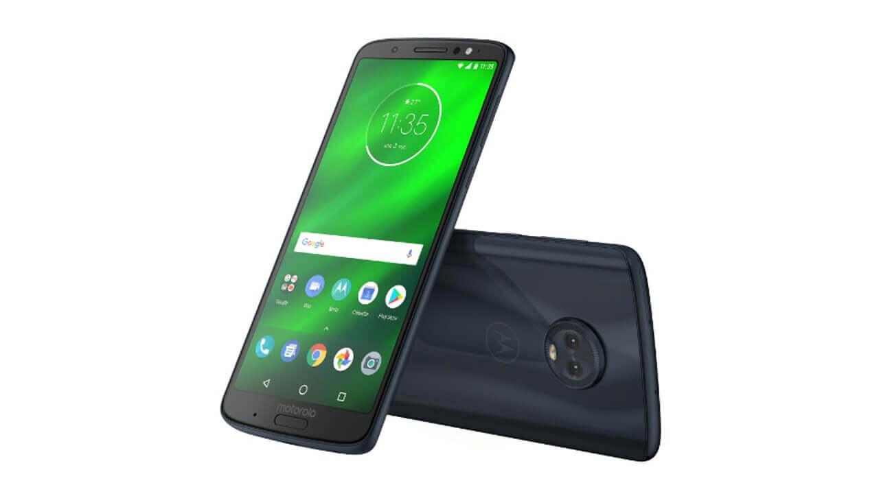 Motorola、「Moto G6/G6 Plus」「Moto E5」を6月8日に国内発売