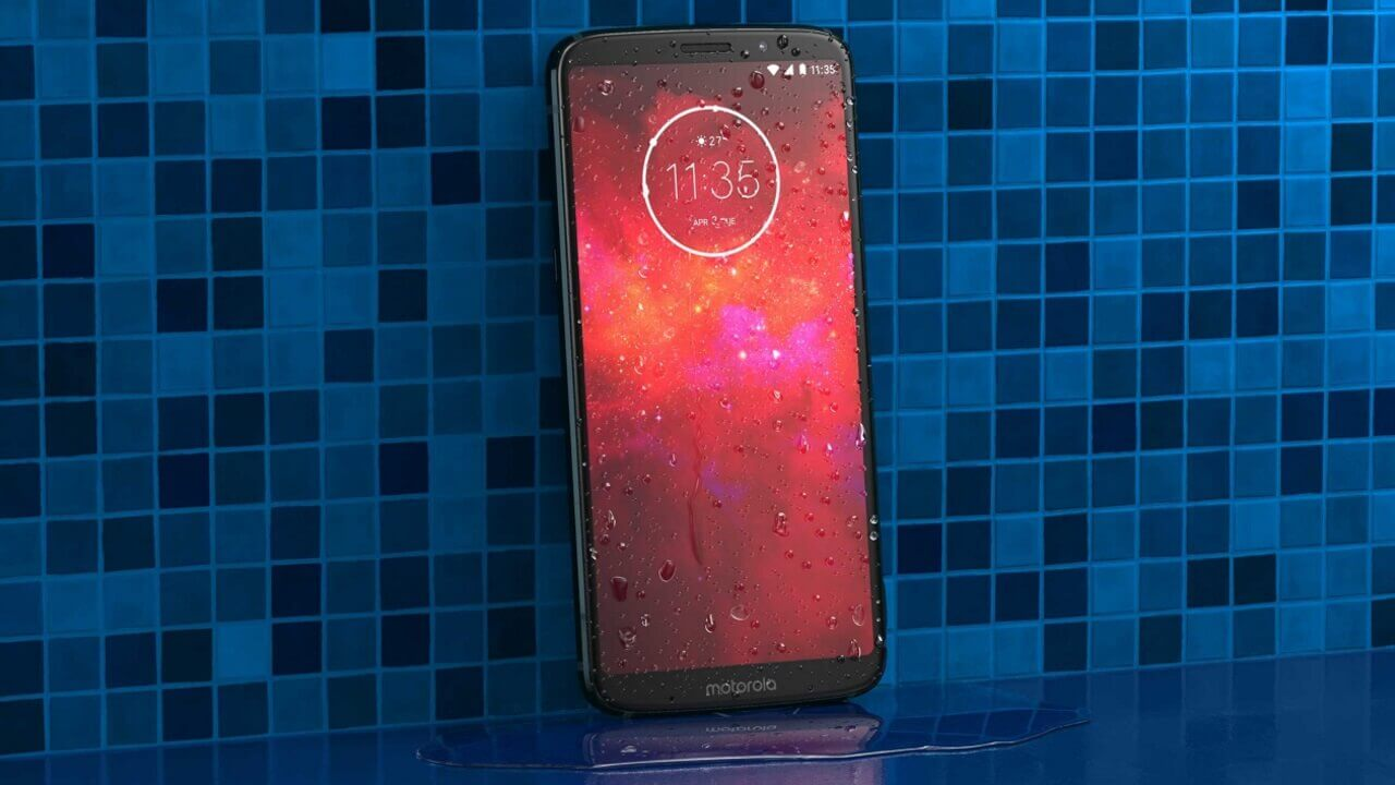 Motorola、フルHD+ディスプレイ搭載「Moto Z3 Play」正式発表