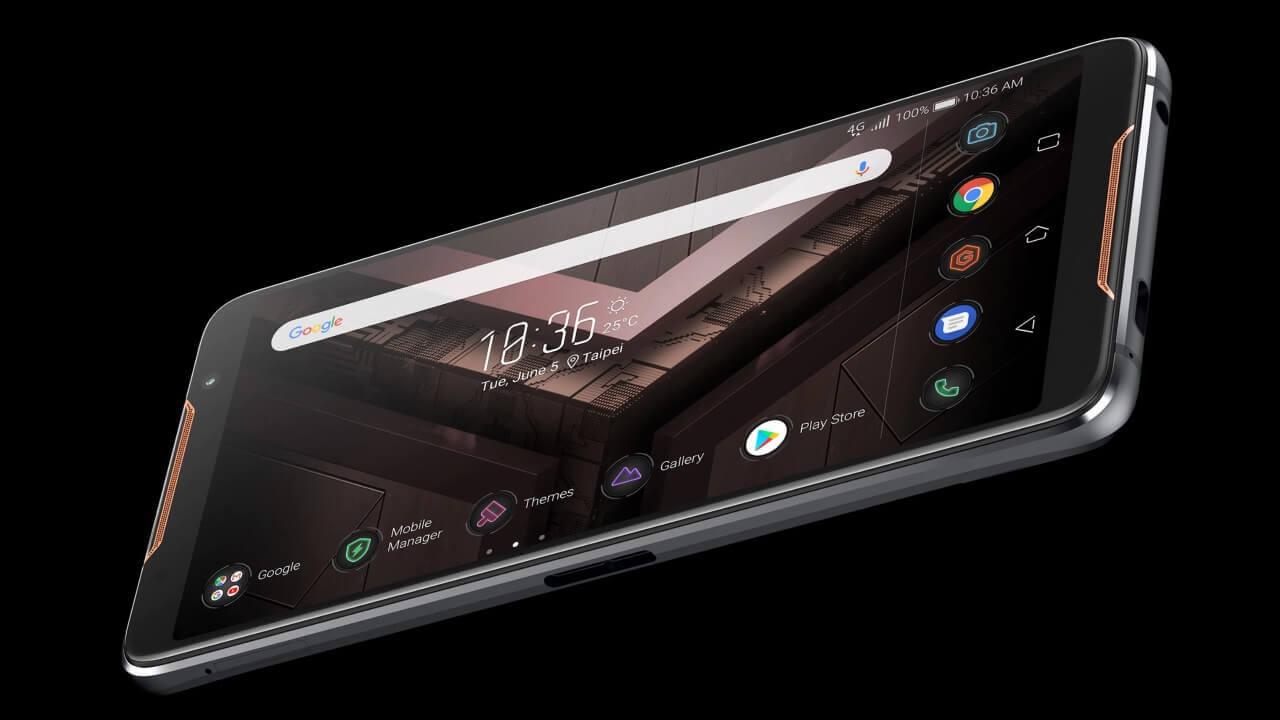 ASUS、超ハイスペックゲーミングスマートフォン「ROG Phone」発表【Computex 2018】