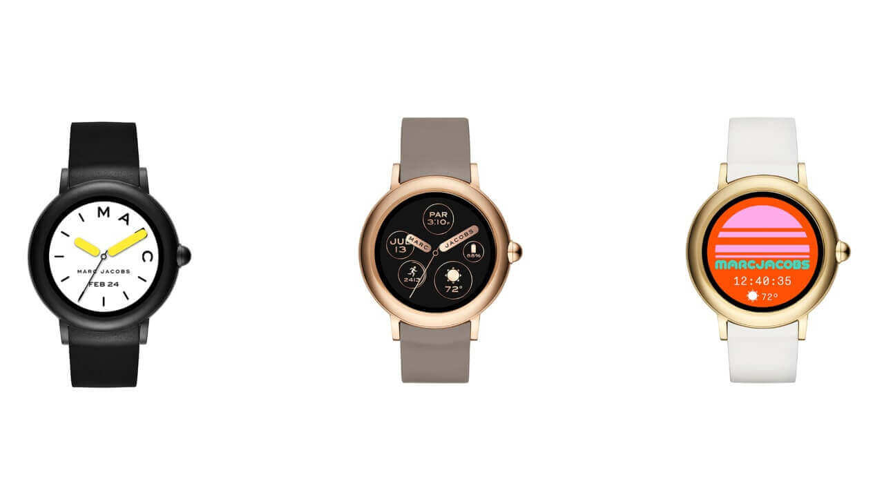 Marc Jacobs、初のWear OSウォッチ「Riley Touch Screen 44」を国内発売