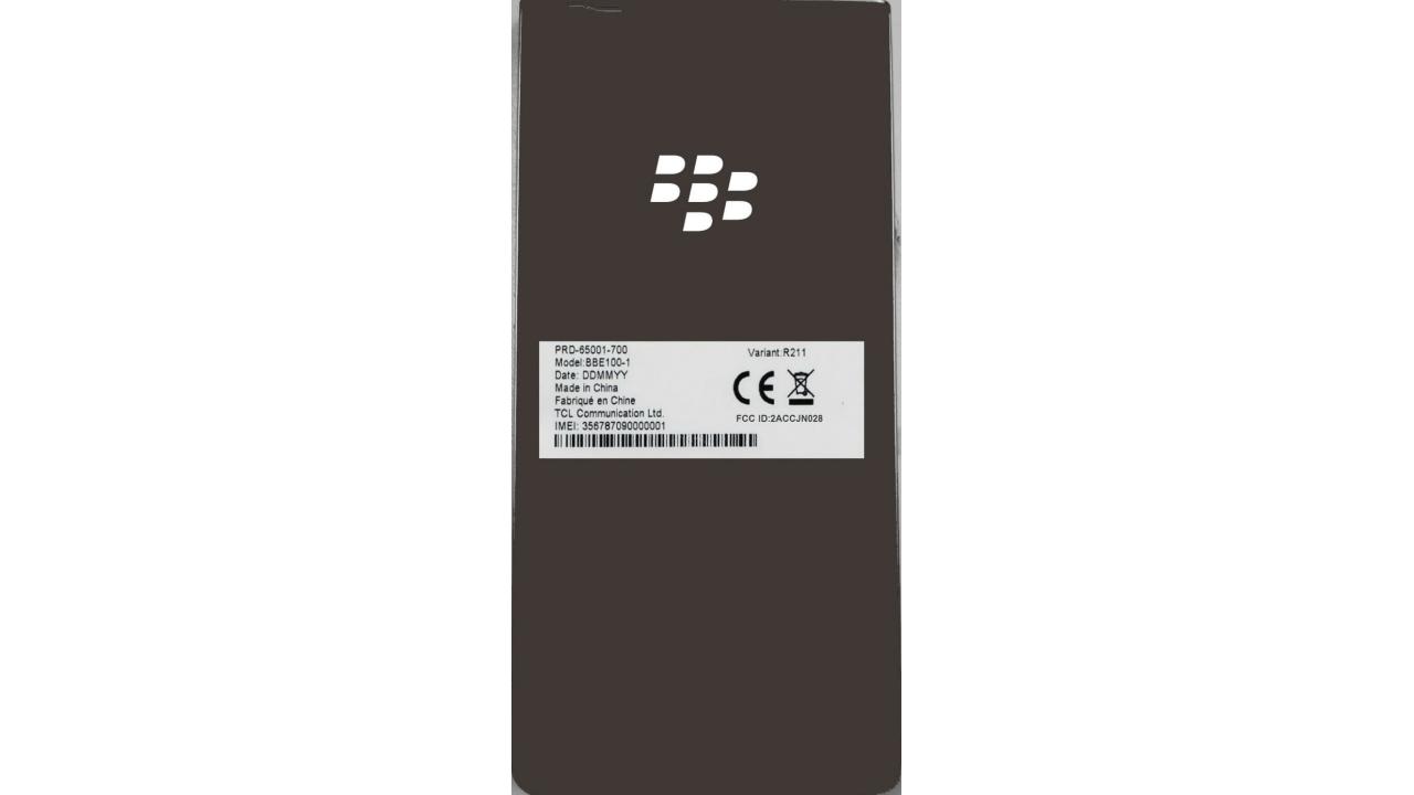 謎のBlackBerry型番「BBE100-1」がFCCの認証を取得、LTE B19もサポート