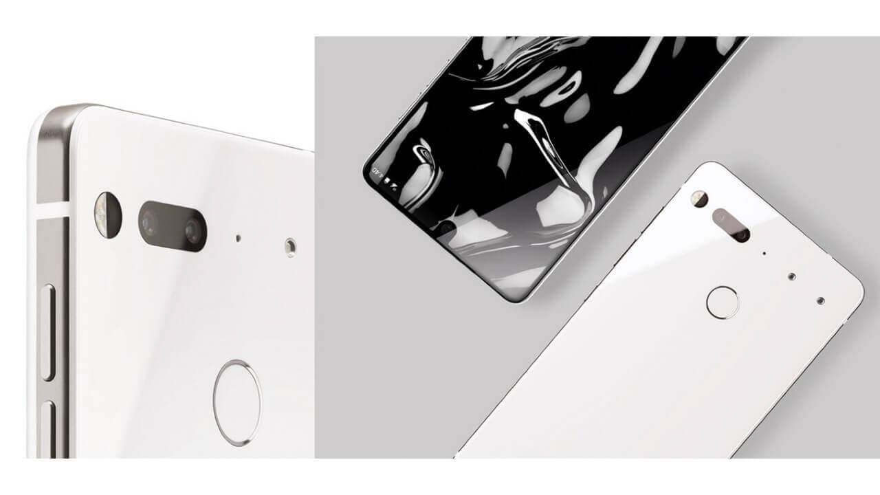 「Essential Phone」、米Amazonプライムデー対象で特価販売予定