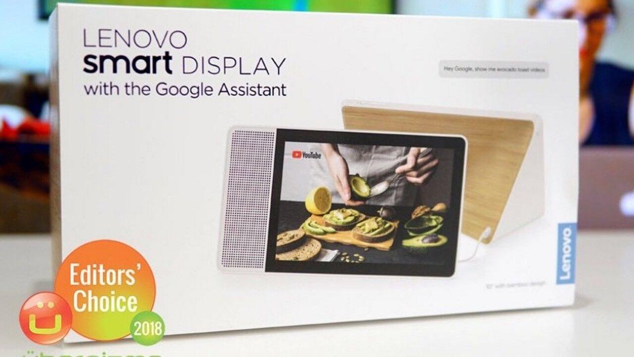 「Lenovo Smart Display」がebayに出品され始める、日本直送対応も