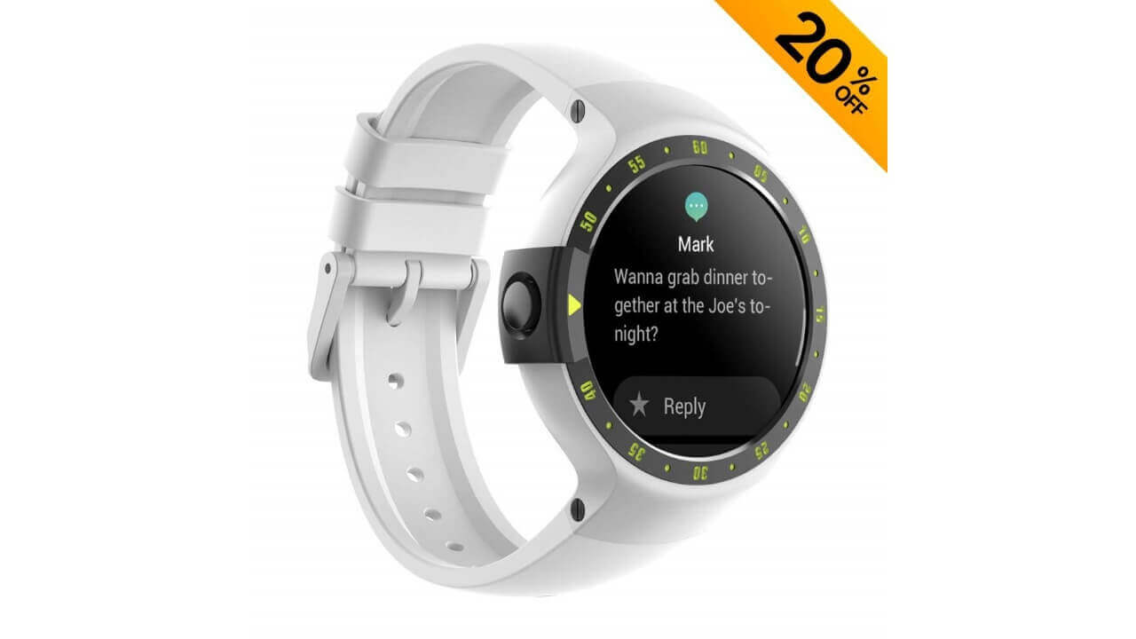 AmazonでWear OS「Ticwatch S/E」がクーポン適用で20%引き