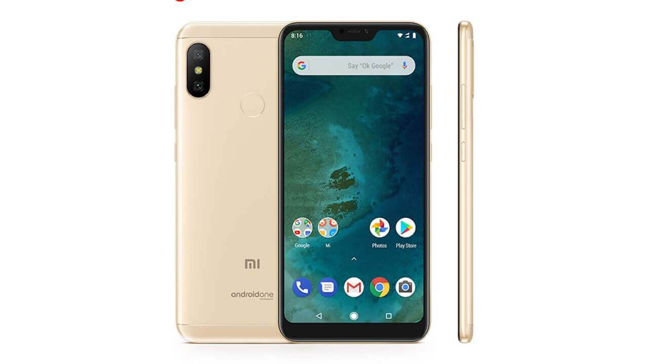 Uniqbeに「Xiaomi Mi A2 Lite」ゴールドが入荷