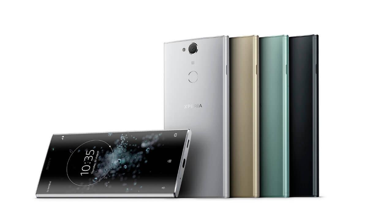 Sony Mobile、18:9ディスプレイ+DSEE HX搭載「Xperia XA2 Plus」を発表