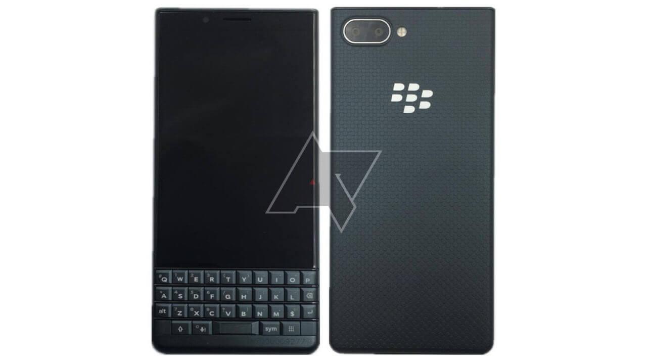 これが噂の「BlackBerry Key2 LE」?キーボードはKEYoneに近い仕様