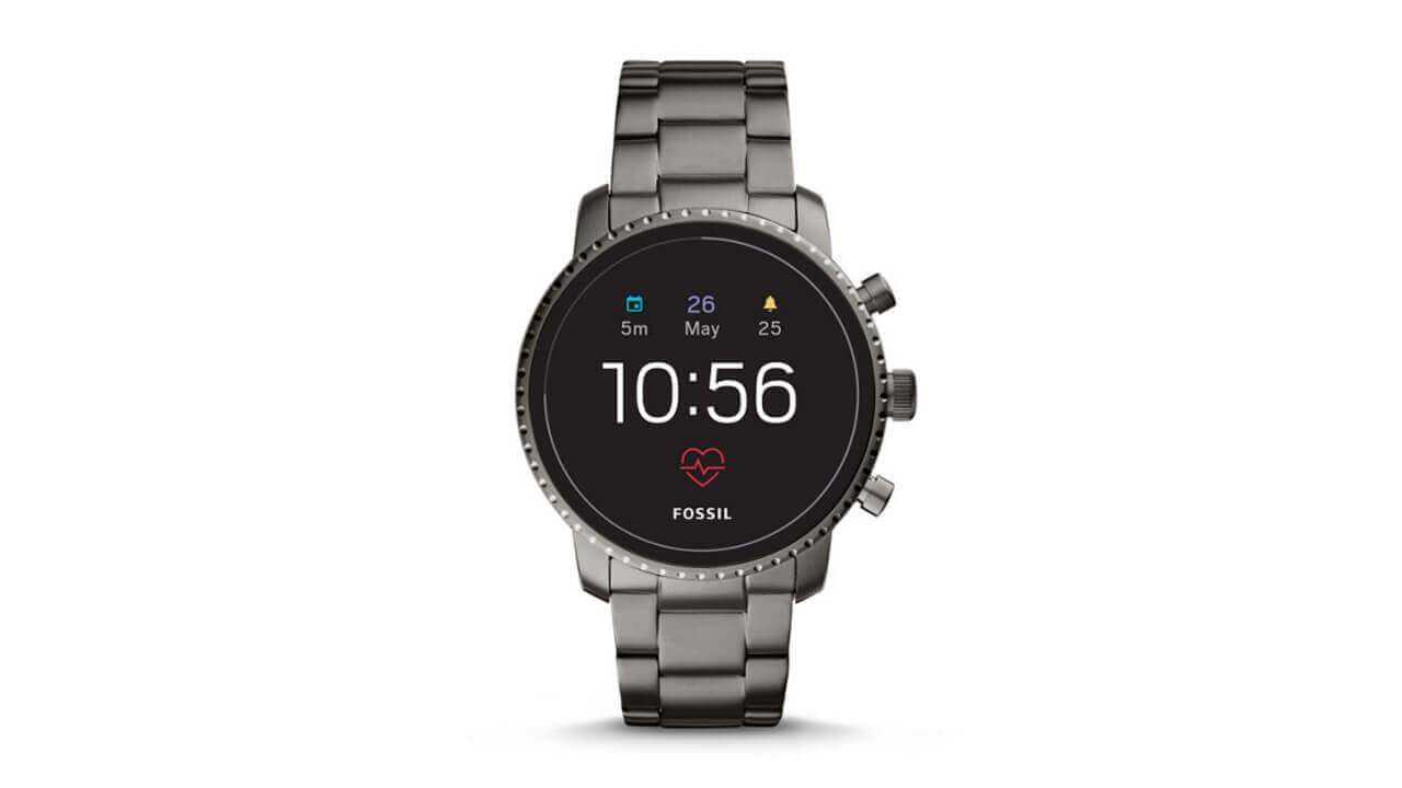 Fossilの第4世代Wear OSのメンズモデル「Q Explorist HR」が国内発売