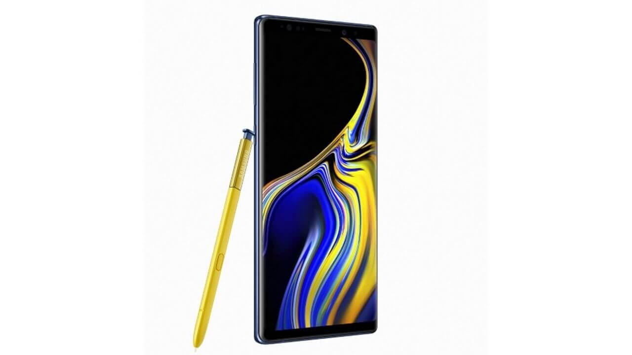 Samsung、スペックと基本機能が進化した「Galaxy Note9」発表