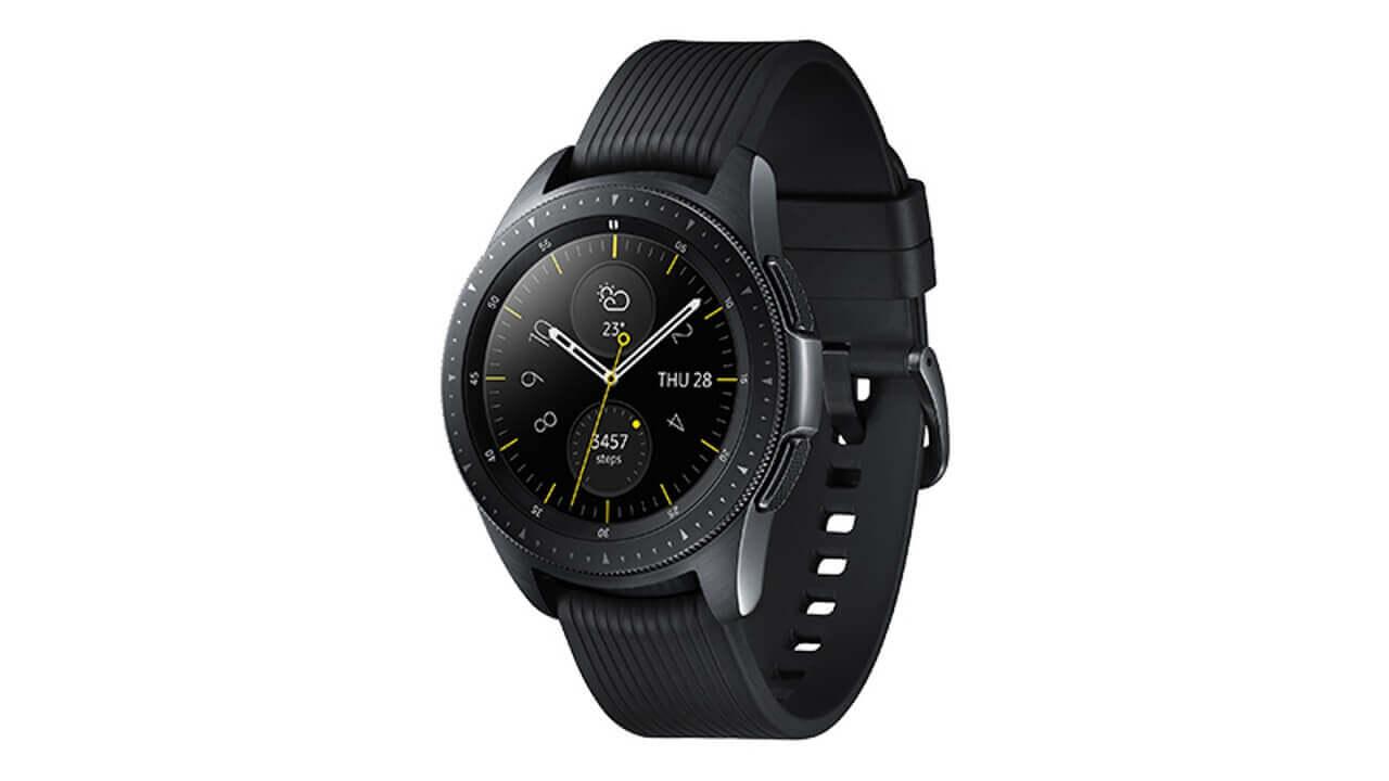 Samsung、新型ウェアラブル「Galaxy Watch」を発表
