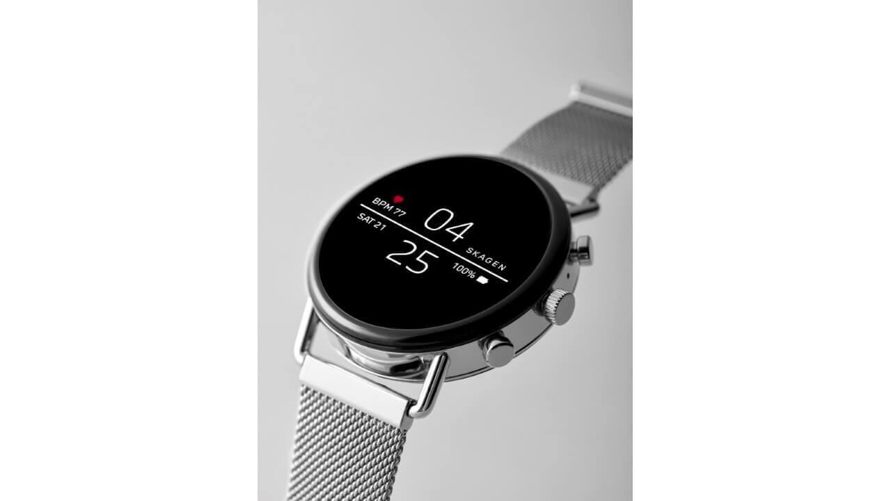 SKAGEN、新機能を搭載した第2世代Wear OS「FALSTER 2」を発表