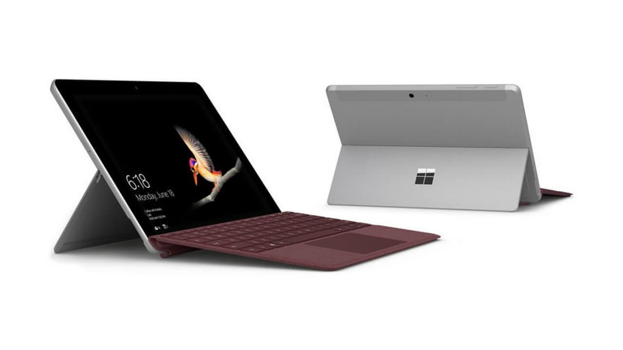 ビックカメラ、「Surface Go」購入でタイプカバープレゼント【8月5日まで】
