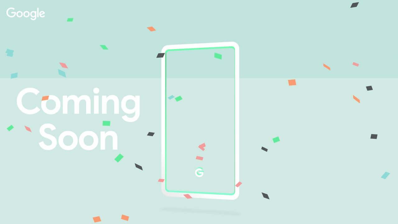 Googleが国内向け新製品ティザーサイトを公開、新機種は3色展開?