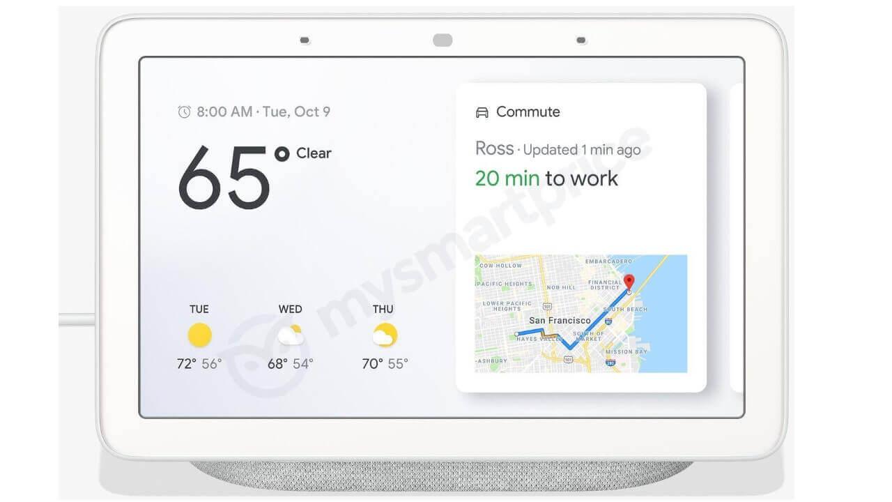 これがGoogle製スマートディスプレイ「Google Home Hub」?