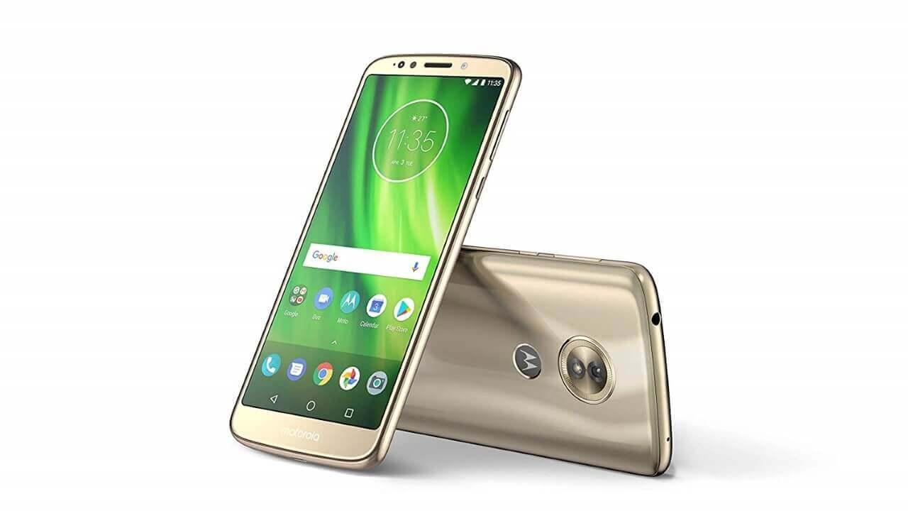 Amazon限定「Moto G6 Play」発売