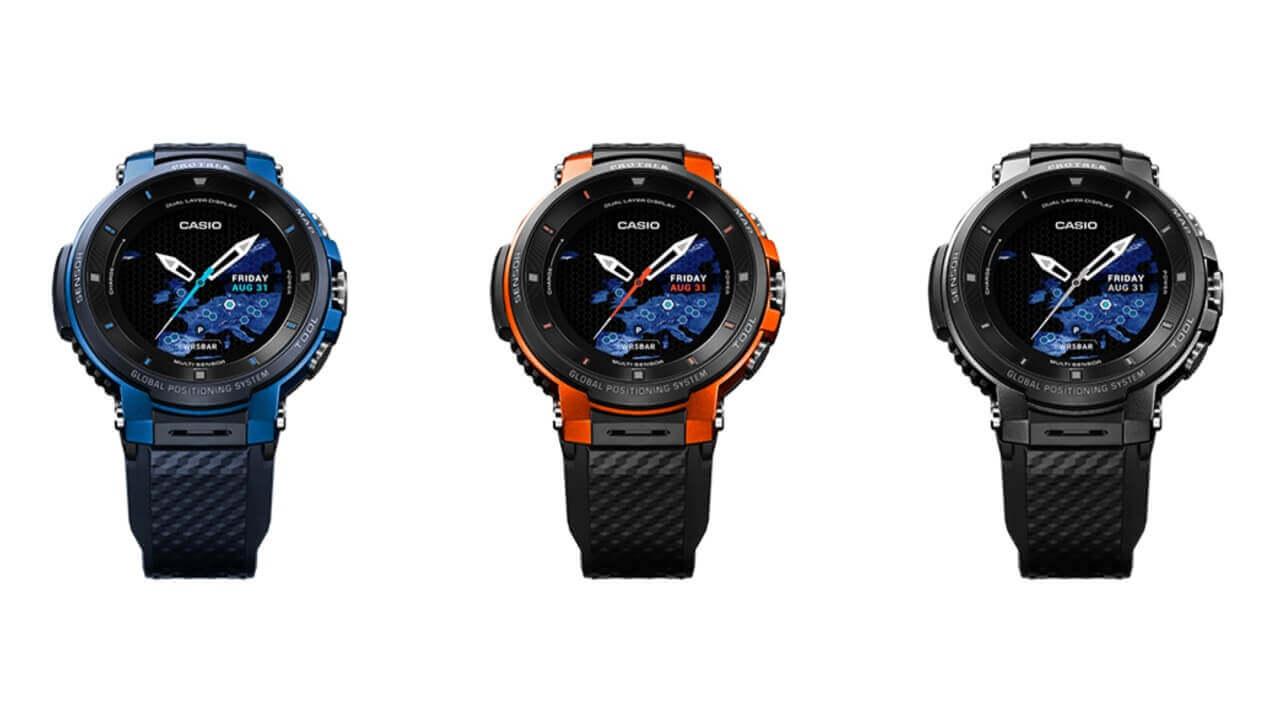 カシオ、Wear OS「PRO TREK Smart WSD-F30」を1月に国内発売