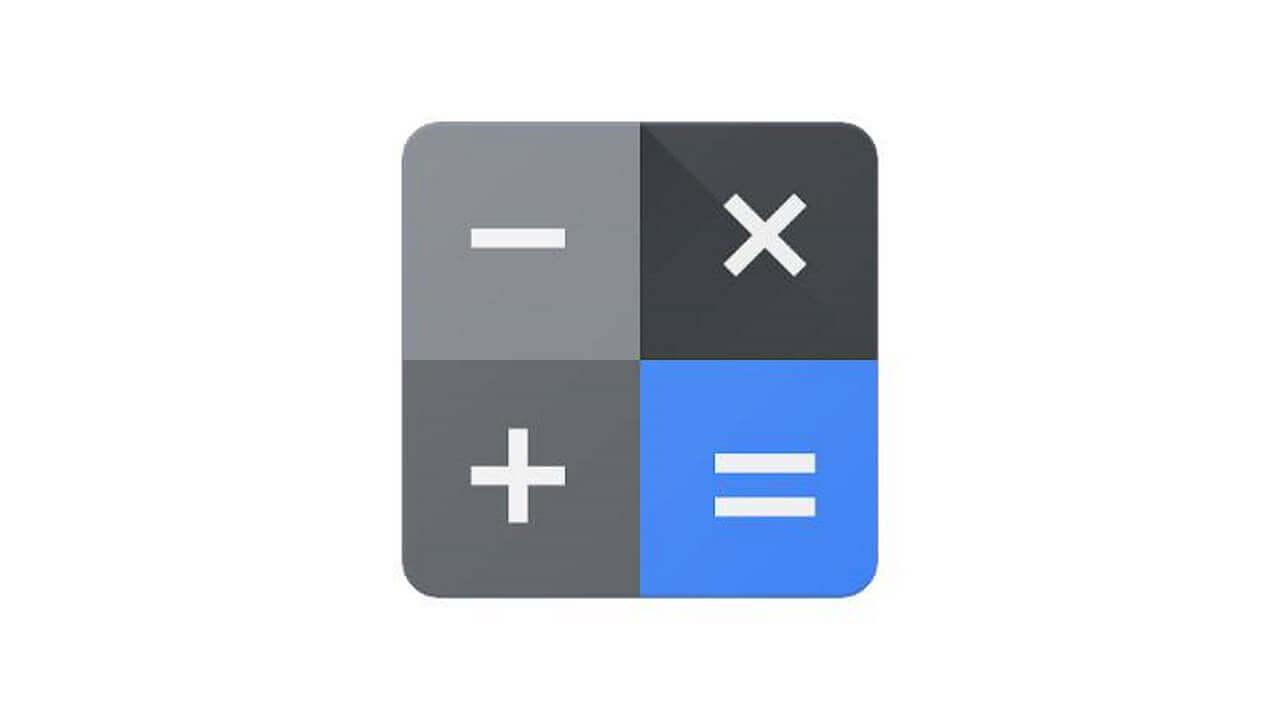 Android版「電卓」が新テーマとフォントにリニューアル