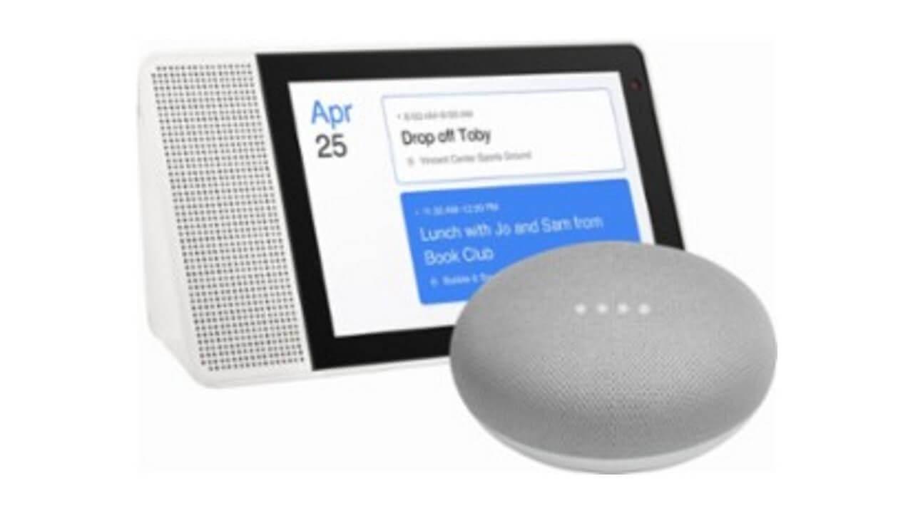 Best Buy、「Lenovo Smart Display 8」に「Google Home Mini」を無料バンドル