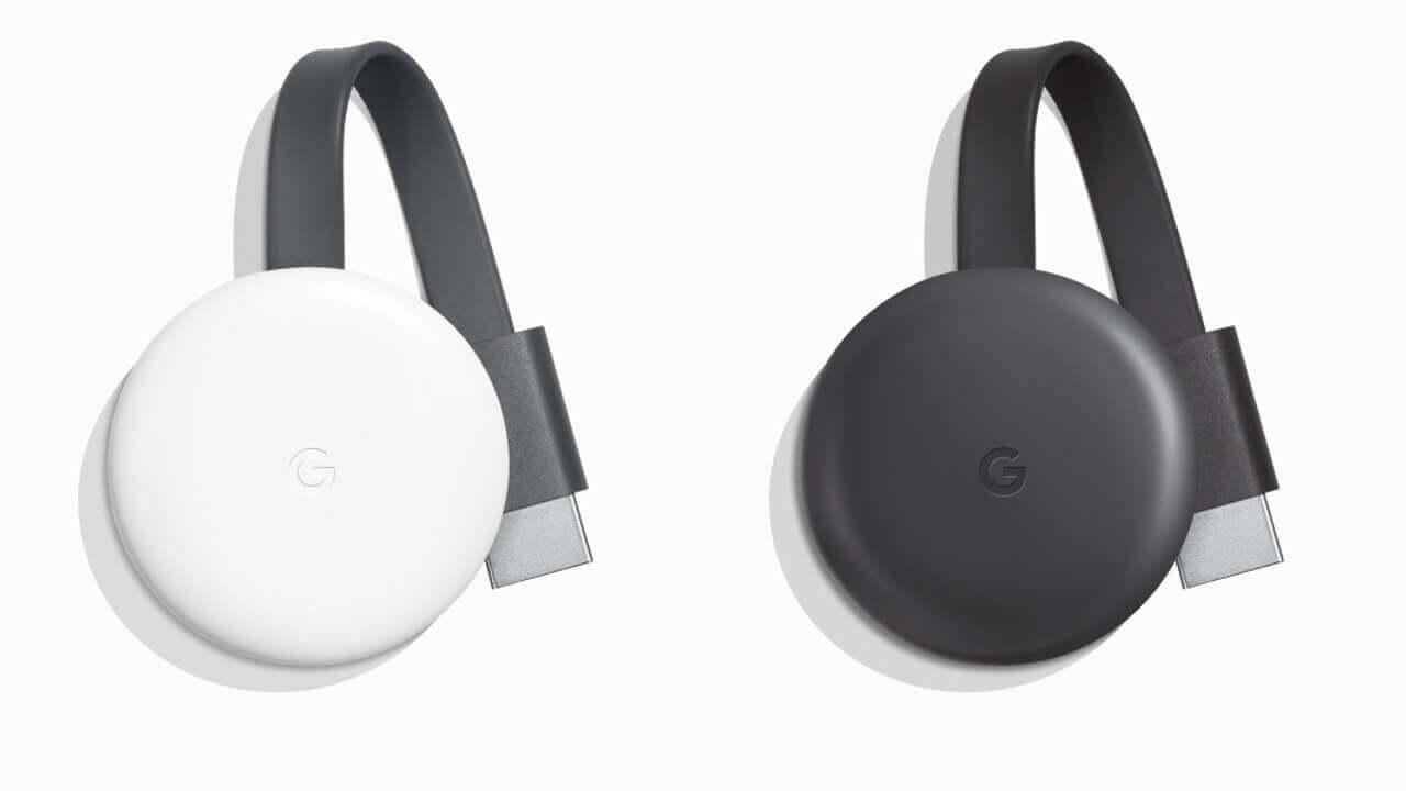 15%性能が向上した新型「Chromecast」発表、日本でも発売