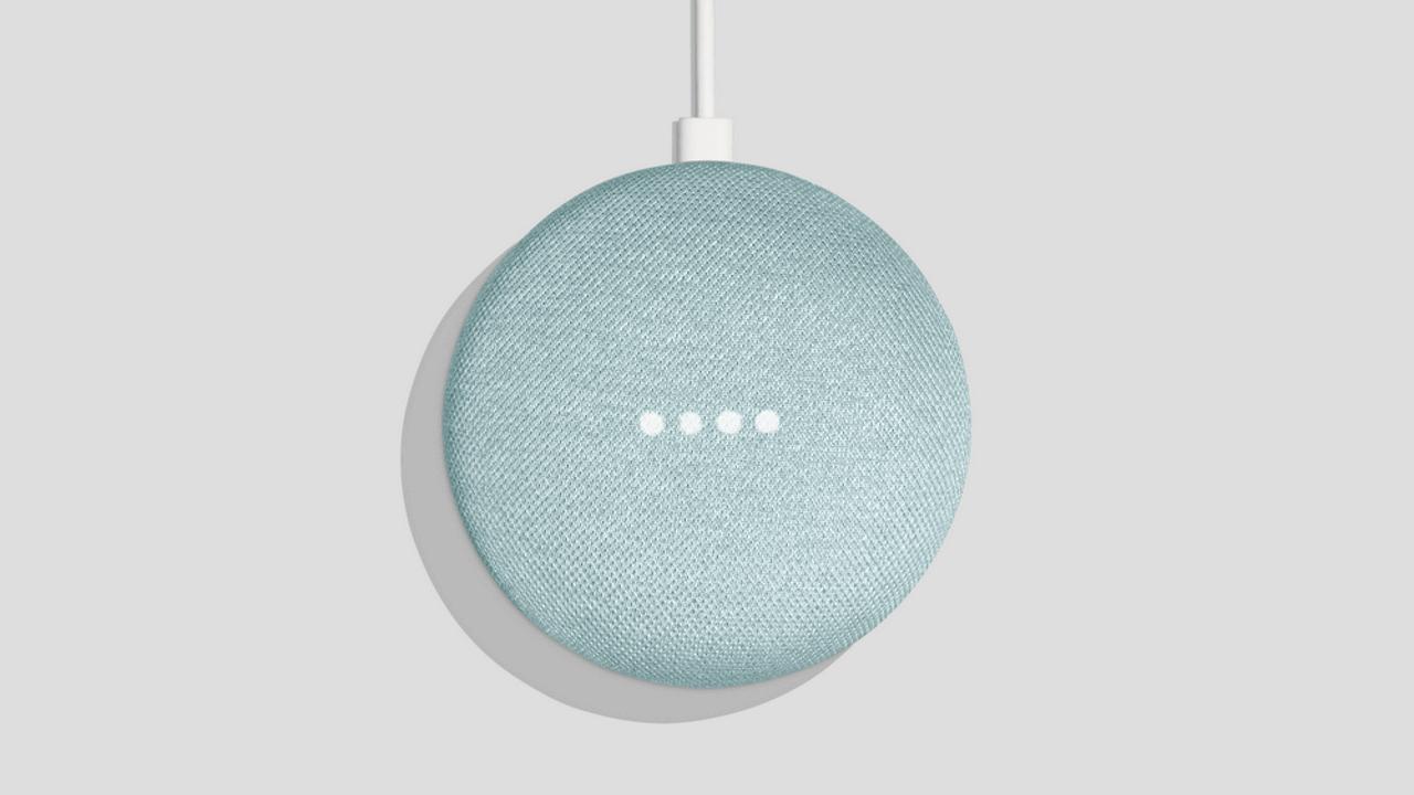「Google Home Mini」に新色アクア追加、10月中発売