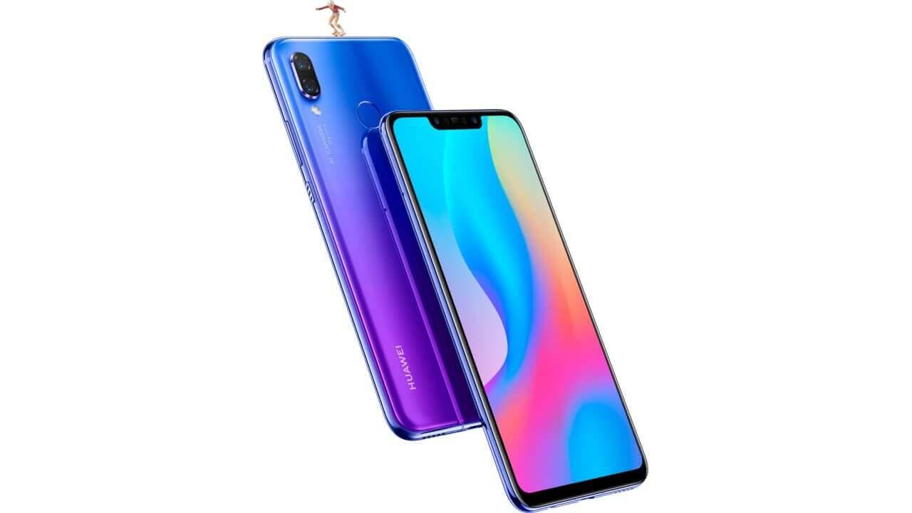 ハイスペック仕様の「Huawei nova 3」発表、10月5日に国内発売