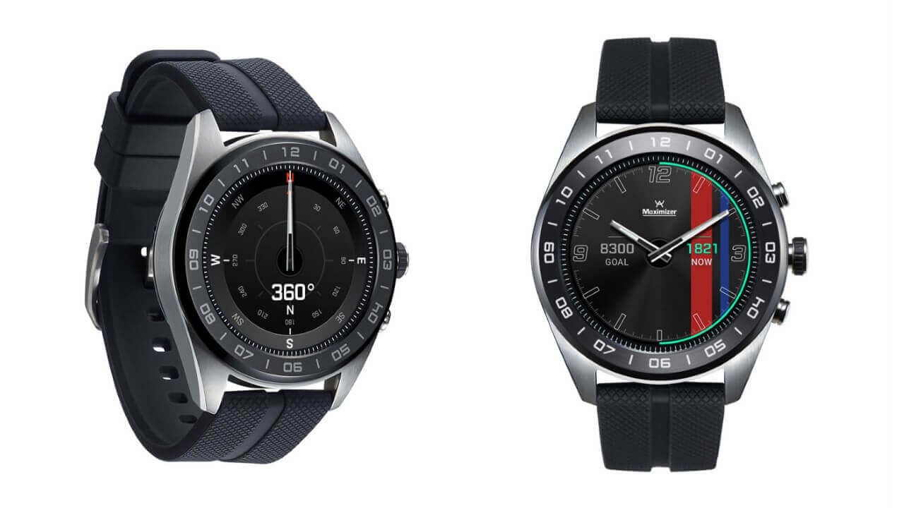 B&H、ハイブリッドWear OS「LG Watch W7」の予約受付中