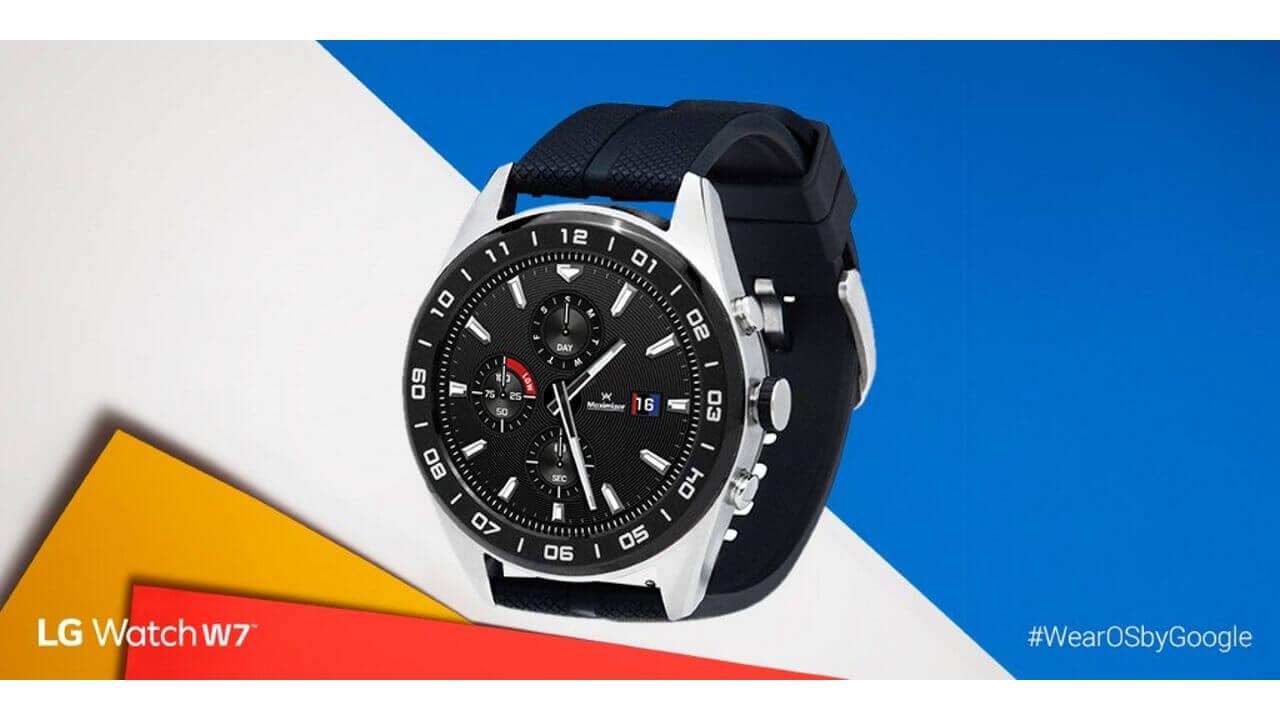 B&Hに新型Wear OS「LG Watch W7」が入荷