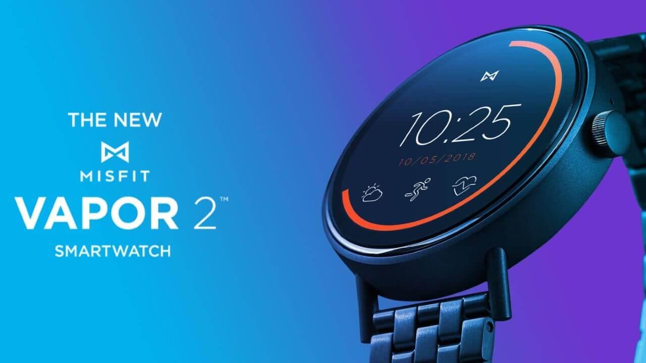 機能進化した新型Wear OS「Misfit Vapor 2」正式発表