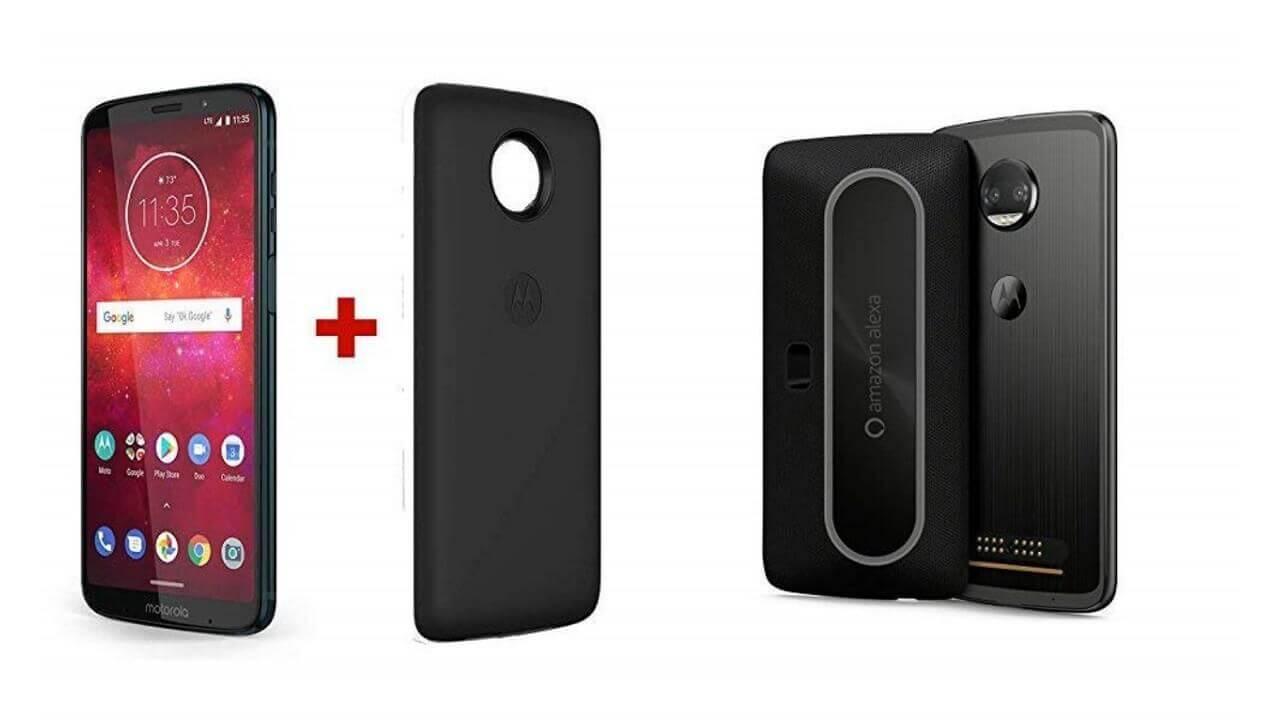 LTE B19サポート「Moto Z3 Play」、Alexaモッド付で米Amazonから直輸入可能に