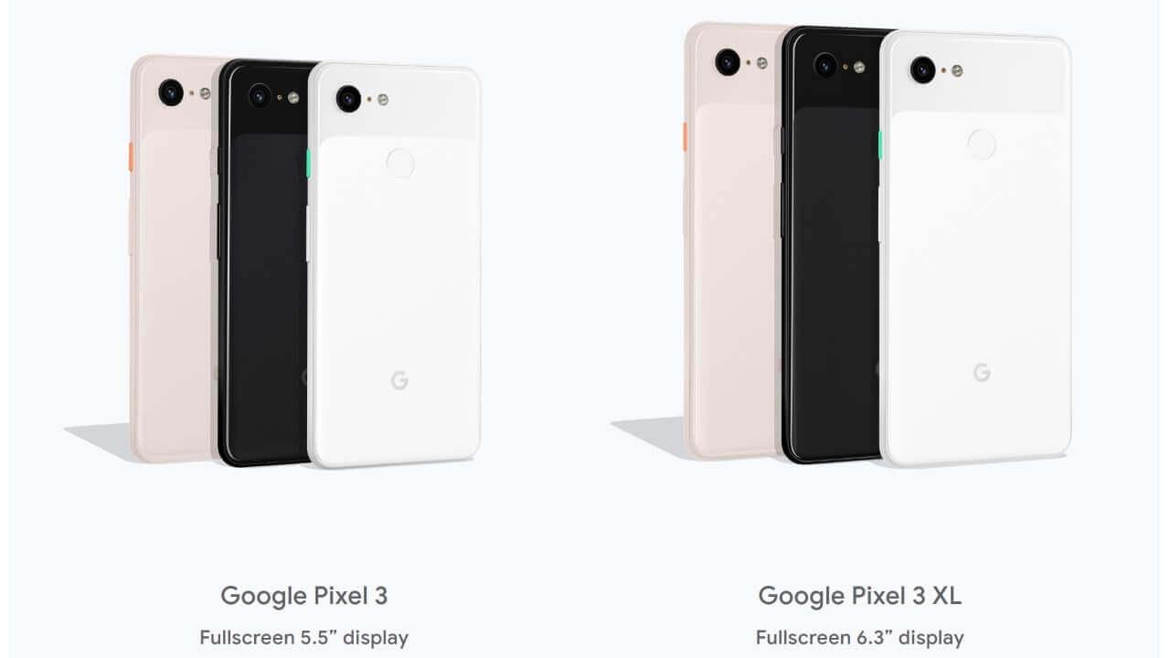 1ShopMobileに海外版「Pixel 3/3 XL」が入荷