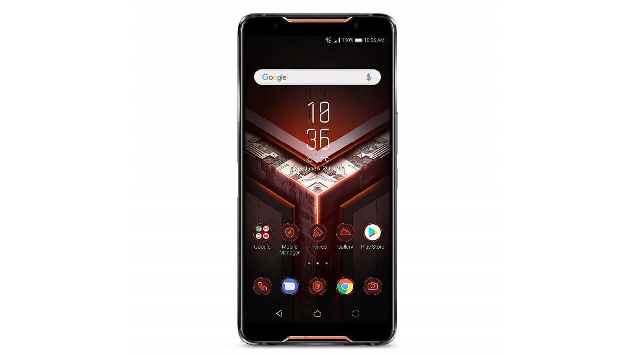 ASUSハイスペックゲーミングスマートフォン「ROG Phone」予約開始、米Amazonから直輸入可能