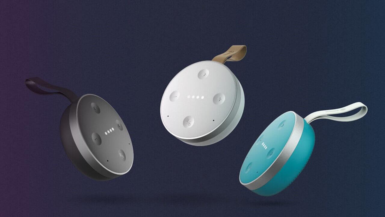 防水ポータブルGoogle Homeスピーカー「TicHome Mini」国内発売