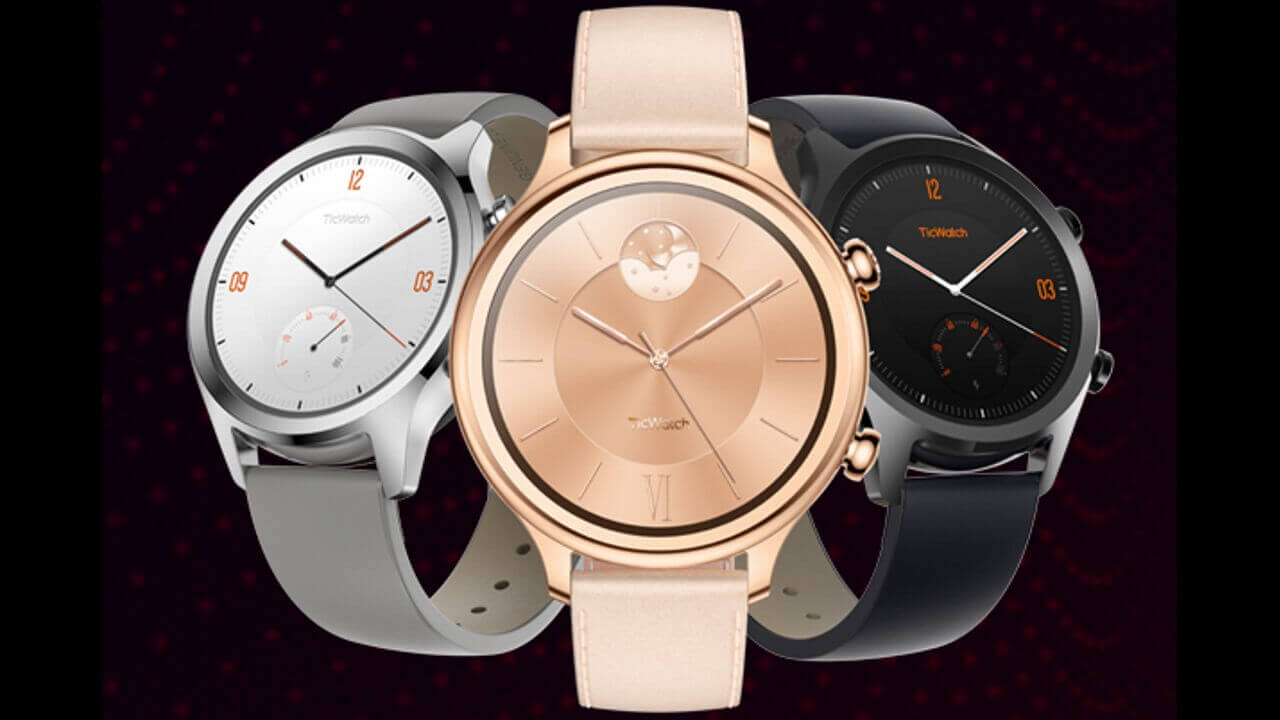 Wear OS「TicWatch C2」国内投入時期と価格の噂情報