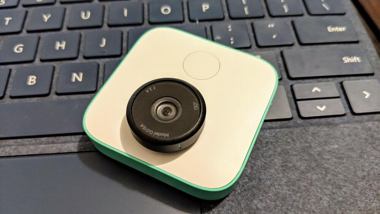 AIカメラ「Google Clips」が半額以下の$99で販売中【ブラックフライデー】