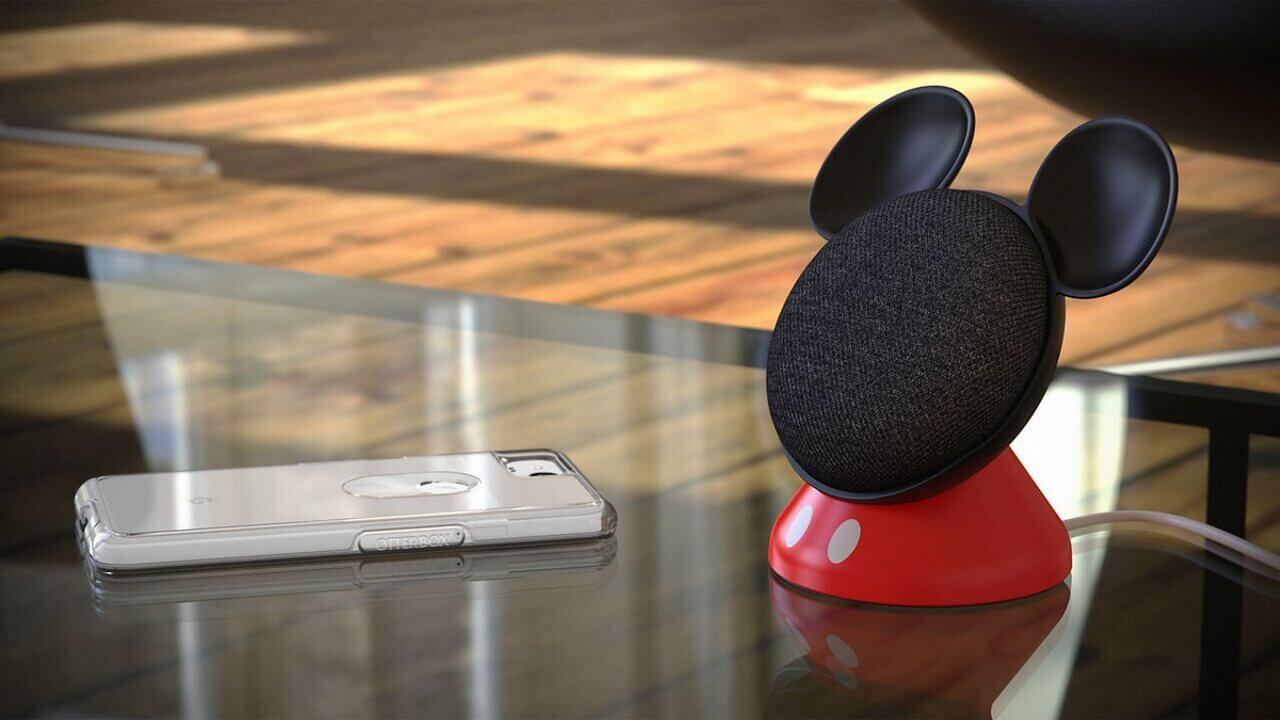 「Google Home Mini」用ミッキーベースが米ディズニー公式に登場