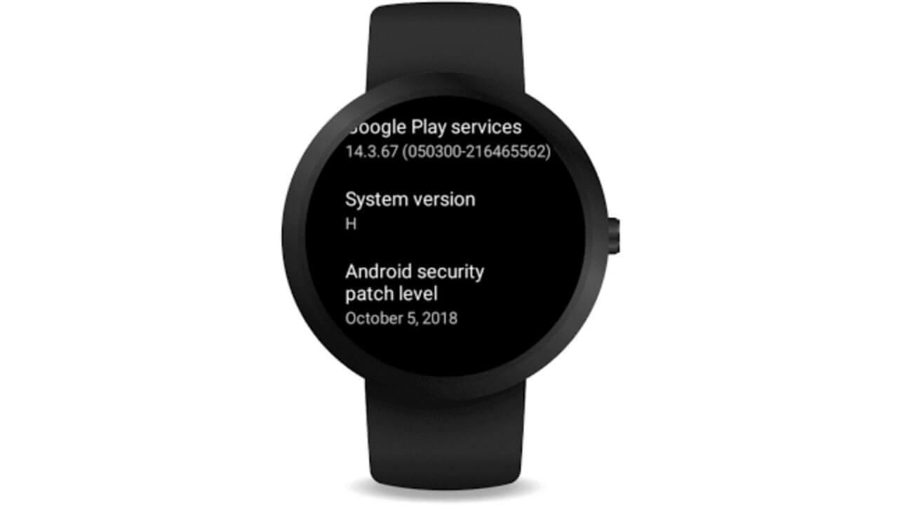 """Google、Wear OSの新しいシステムバージョン""""H""""を発表"""