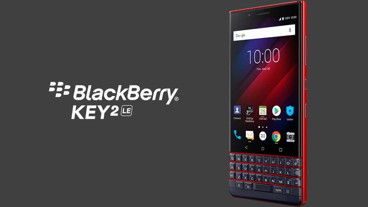 英Amazon、日本直送対応でデュアルSIM「BlackBerry KEY2 LE」Atomic予約開始