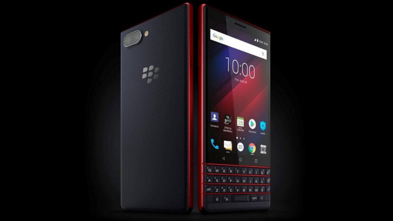 ついに直輸入可能な「BlackBerry KEY2 LE」Atomicがebayに登場