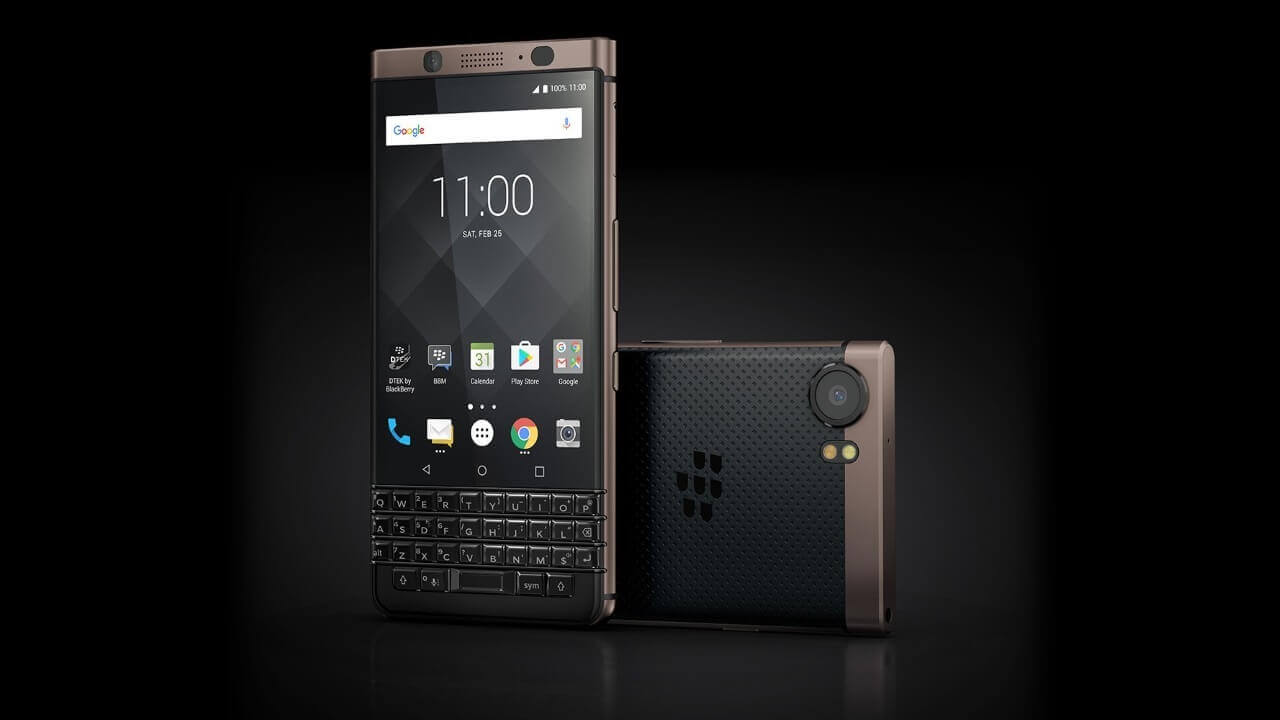 「BlackBerry KEYone Bronze Edition」が$299.99に値下がり