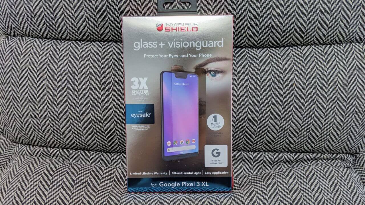 Made for Google Pixel 3用ガラス「ZAGG Glass+ VisionGuard」【レビュー】