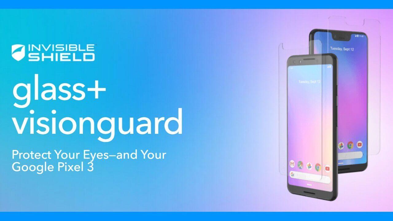 Pixel 3用Made for Googleガラス「ZAGG Glass+ VisionGuard」が25%引き、更に+15%引きも