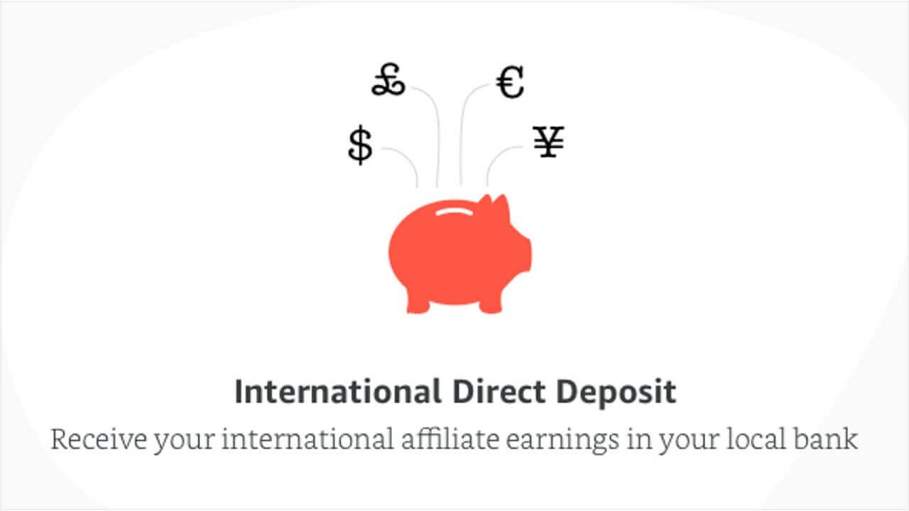 海外Amazonのアフィリエイト支払い先として日本の銀行を選択可能に