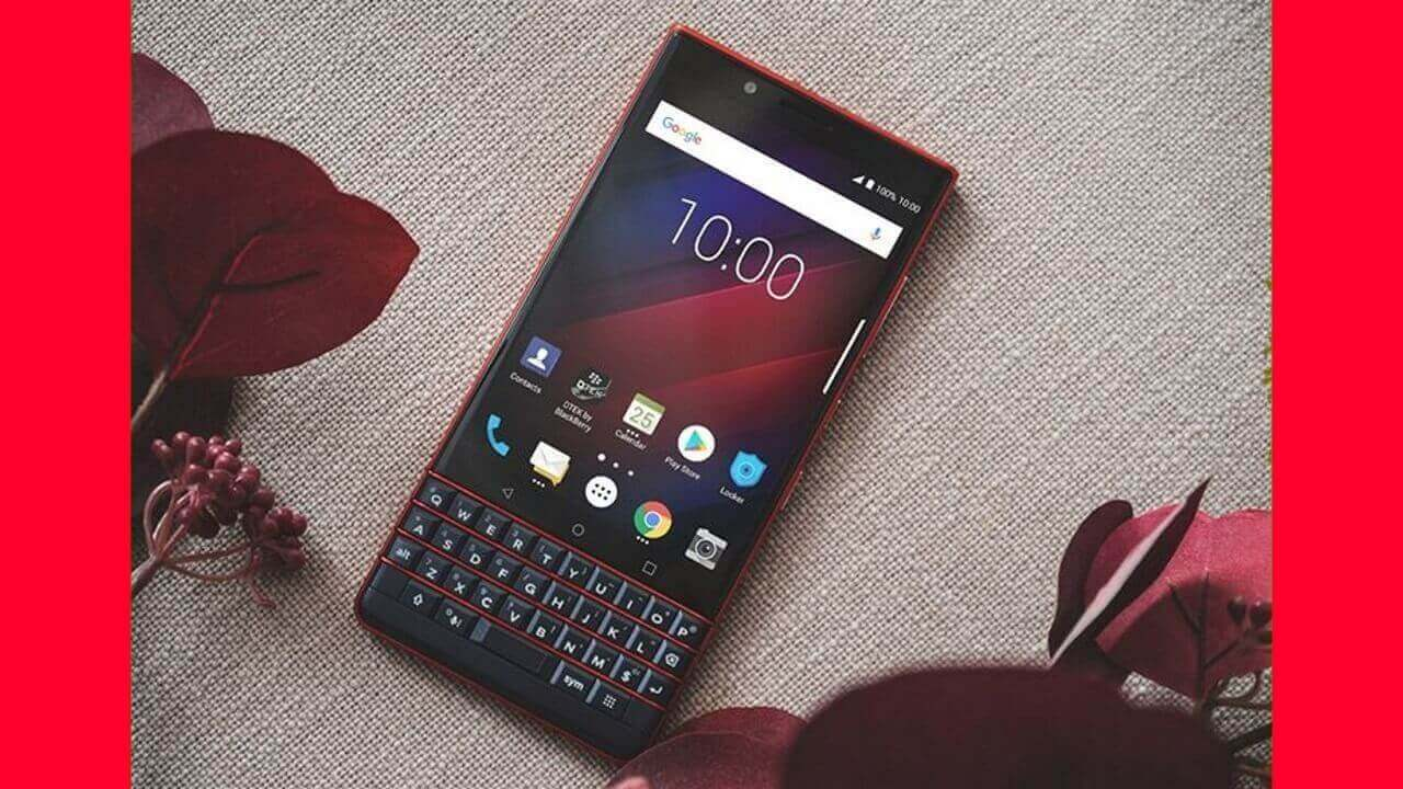 Uniqbeが「BlackBerry KEY2 LE」Atomic発売