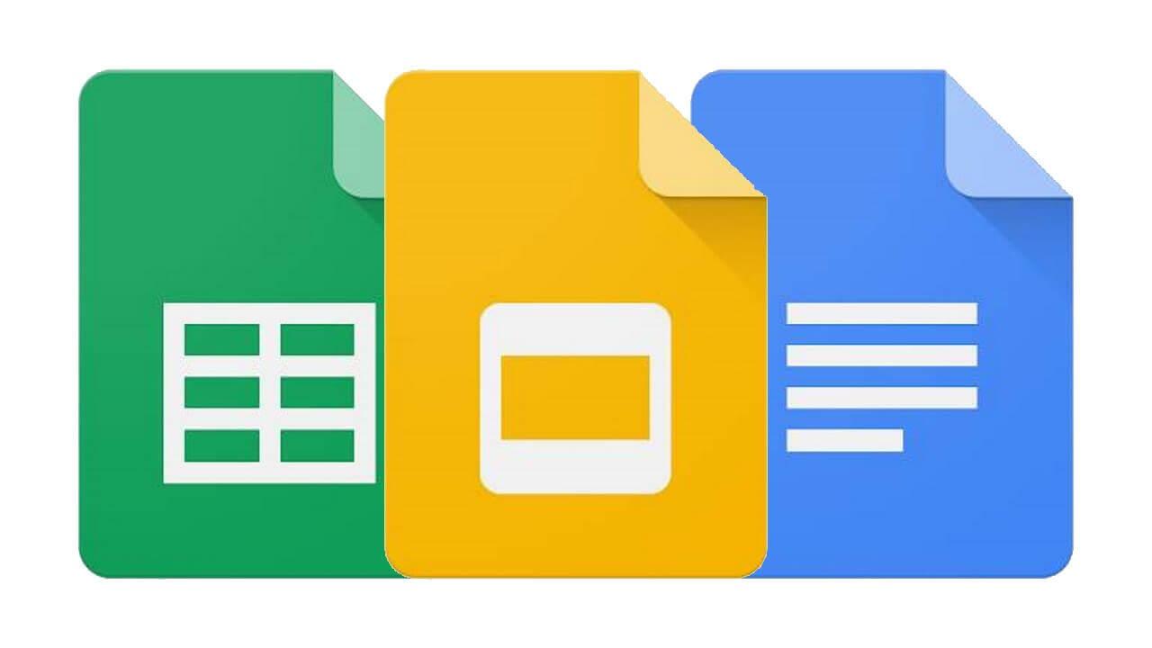 WEB版「Googleスプレッドシート/ドキュメント/スライド」が新しいマテリアルデザインに