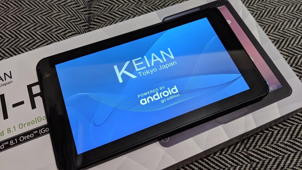 Android Go「KEIAN KI-R7」がAmazonに入荷