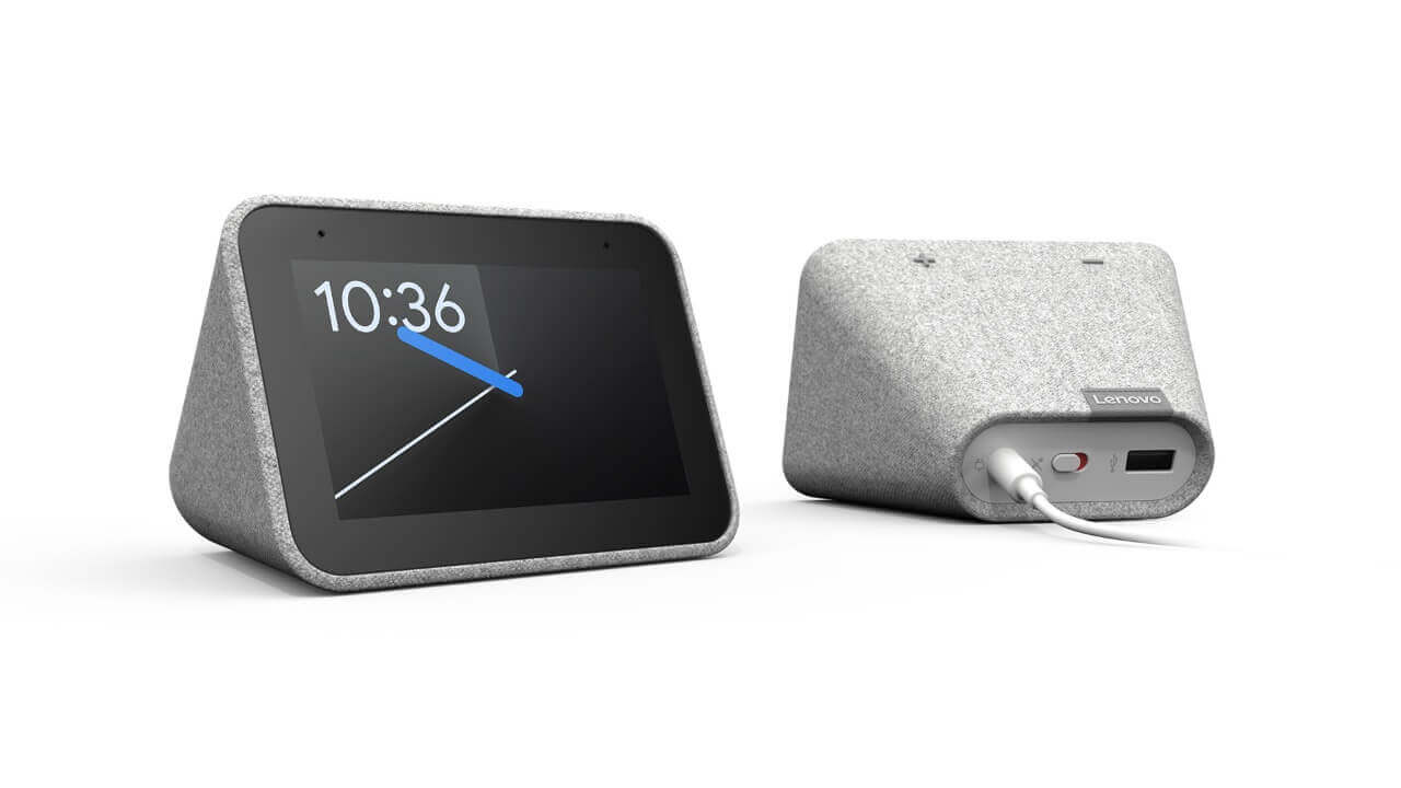 Lenovo、Googleアシスタント搭載目覚まし時計「Smart Clock」発表