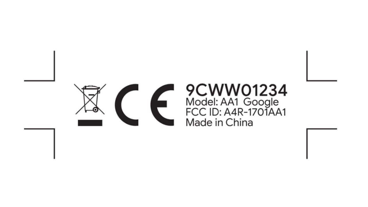 謎のGoogle製「Single board computer(AA1)」がFCC認証を取得